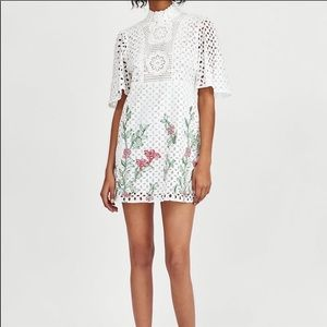 Embroidered dress from Zara woman